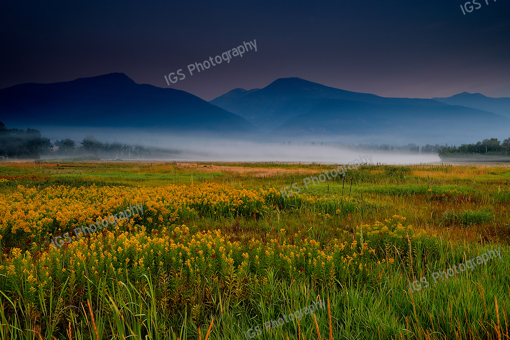 Wetland flat, Lee Metcalf National Wildlife Refuge, Montana