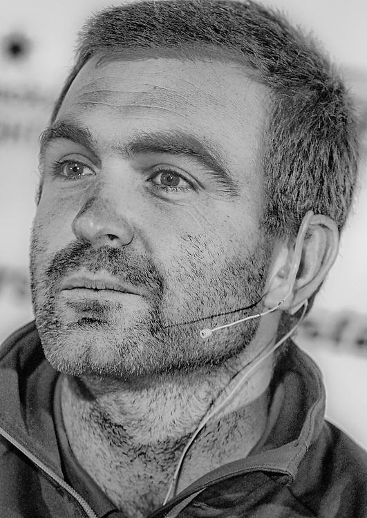 Charlie Enright<br /> Vestas 11th Hour Racing<br /> Pressconference<br /> Volvo Ocean Race Newport