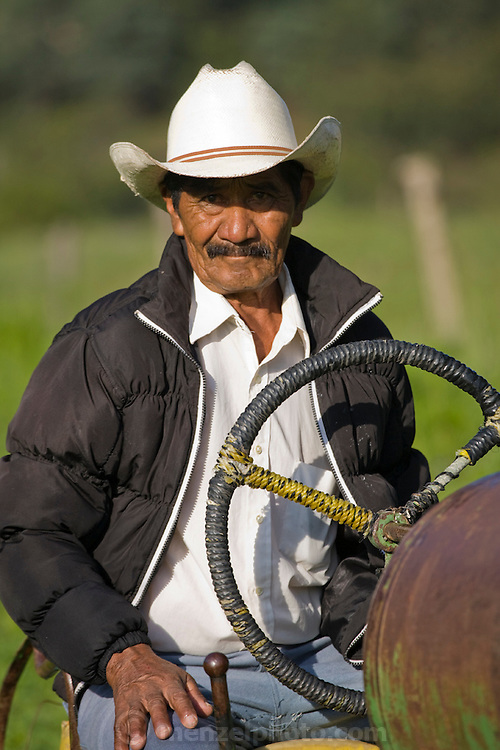 Don Jose Angel (72), the father of José Angel Galaviz, a rancher of Pima heritage who lives with his family in the Sierra Mountains  near Maycoba, in the Mexican state of Sonora. (José Angel Galaviz Carrillo is featured in the book What I Eat: Around the World in 80 Diets.)