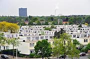 Nederland, Nijmegen, 29-4-2011Panorama vanuit de lucht van de jaren zestig wijk Hatert. Deze gemeleerde wijk was een achterstandswijk, maar wordt door de gemeente en met steun van het rijk leefbaarder gemaakt.Foto: Flip Franssen/Hollandse Hoogte