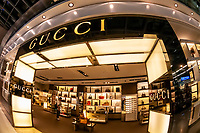 Gucci duty free shop, Suvarnabhumi International Airport, Bangkok, Thailand