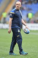 Conor O'Shea, Italy coach.<br /> Roma 17-03-2018, Stadio Olimpico<br /> Rugby 6 Nations Tournament <br /> Italia - Scozia / Italy - Scotland<br /> <br /> Foto Antonietta Baldassarre Insidefoto