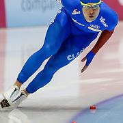 NLD/Heerenveen/20130111 - ISU Europees Kampioenschap Allround schaatsen 2013, 500 meter, Matteo Anesi