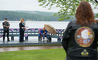 Freedom Ride from Gilford to Meredith during Laconia's 90th Motorcycle Week.  Karen Bobotas/for the Laconia Daily Sun