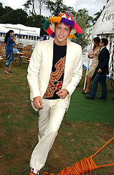 SAM BRANSON at the 2005 Cartier International Polo between England & Australia held at Guards Polo Club, Smith's Lawn, Windsor Great Park, Berkshire on 24th July 2005.<br /><br />NON EXCLUSIVE - WORLD RIGHTS