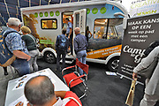 Nederland, Utrecht, 21-9-2017 Ouderen, senioren, bezoekers op de 50plus beurs. Foto: Flip Franssen