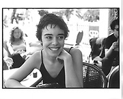 Elodie Bouchez, Young French Stars lunch, Martinez terrace, Cannes Film festival 15th May1997© Copyright Photograph by Dafydd Jones 66 Stockwell Park Rd. London SW9 0DA Tel 020 7733 0108 www.dafjones.com