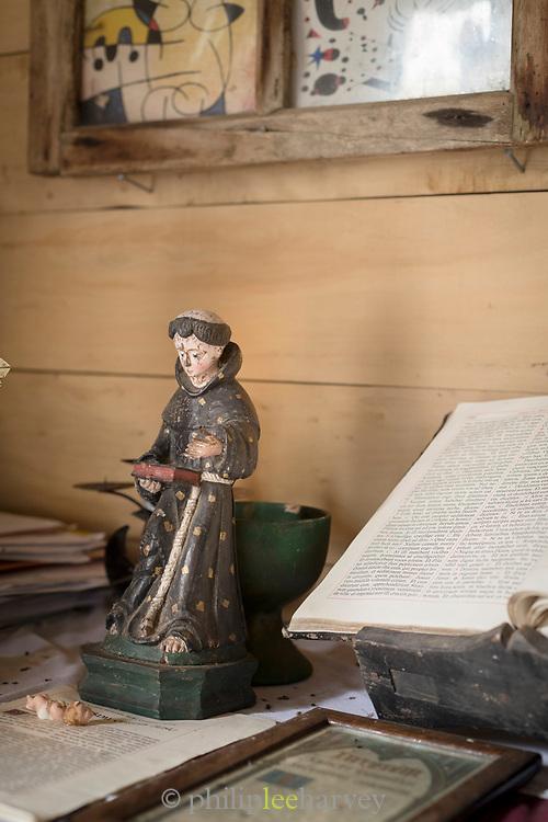 Ornament in Church of Vilupulli on Chiloe Island, Chile