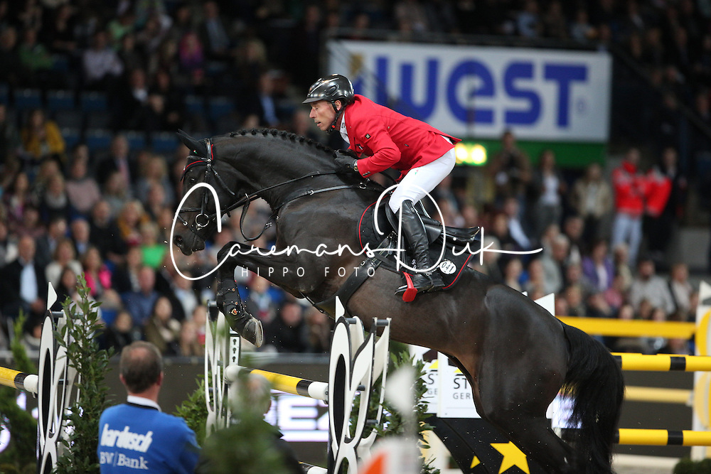 Dreher Hans Dieter, (GER), Embassy II<br /> Grand Prix of Stuttgart <br /> Longines FEI World Cup<br /> Stuttgart - German Masters 2015<br /> © Hippo Foto - Stefan Lafrentz