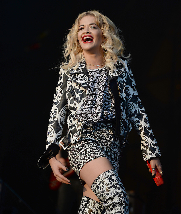 Rita Ora   at the Parklife Festival Heaton Park manchester <br /> PIX Dave nelson