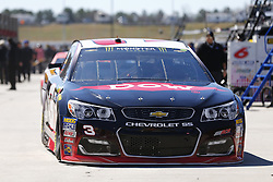 March 3, 2017 - Hampton, Georgia, United States of America - March 03, 2017 - Hampton, Georgia, USA: Austin Dillon (3) heads out of the garage to practice for the Folds of Honor QuikTrip 500 at Atlanta Motor Speedway in Hampton, Georgia. (Credit Image: © Justin R. Noe Asp Inc/ASP via ZUMA Wire)