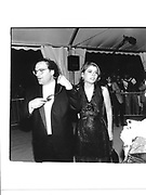 Bob Weinstein and Ivana Lowell.  Unzippped party© Copyright Photograph by Dafydd Jones 66 Stockwell Park Rd. London SW9 0DA Tel 020 7733 0108 www.dafjones.com