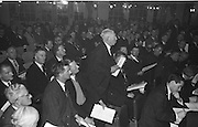 Mr Denis Conroy, (East Cork) representative of the Munster Council, speaking on one of the motions at the annual GAA Congress in the Gresham Hotel, Dublin on Sunday...Annual Congress, GAA. 29.3.1964. 29th March 1964