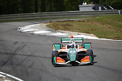 April 23, 2018 - Birmingham, Alabama, United States of America - RENE BINDER (32) of Austria battles for position through the turns during the Honda Grand Prix of Alabama at Barber Motorsports Park in Birmingham, Alabama. (Credit Image: © Justin R. Noe Asp Inc/ASP via ZUMA Wire)