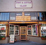 Just a Little Class, a small cafe in downtown Estacada, Oregon