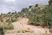 Lalibela, Ethiopia rural scene