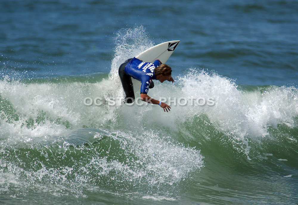 Male Surfing Waves
