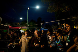 Followers of La Santa Muerte, or Saint Death, attend a mass that takes place on the first of every month. Many drug dealers and criminals believe in Santa Muerte, as it is believed she looks after the criminal element.
