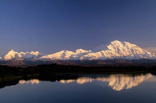 Denali National Park, Scenic, Mount McKinley. Alaska.