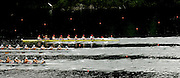 2006 FISA World Cup, Lucerne, SWITZERLAND, 07.07.2006. Women's Eights bottom to top,  NZL W8+, GER W8+, USA W8+ Photo  Peter Spurrier/Intersport Images email images@intersport-images.com.[Friday Morning]....[Mandatory Credit Peter Spurrier/Intersport Images... Rowing Course, Lake Rottsee, Lucerne, SWITZERLAND.