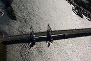 Nederland, Overijssel, Kampen, 03-10-2010; IJsselbrug, stadsbrug - ontwerp Zwarts en Jansma architecten.Town bridge..luchtfoto (toeslag), aerial photo (additional fee required).foto/photo Siebe Swart