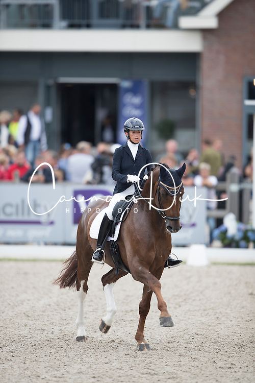 Millis Sarah, GBR, Bodleian<br /> World Championship Young Dressage Horses <br /> Ermelo 2016<br /> © Hippo Foto - Leanjo De Koster<br /> 29/07/16