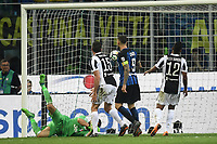 Gol Ivan Perisic (not pictured) Inter 2-1 Goal celebration <br /> Milano 28-04-2018 Stadio Giuseppe Meazza in San Siro Football Calcio Serie A 2017/2018 Inter - Juventus Foto Andrea Staccioli / Insidefoto