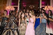 SOKHNA NDOUR; BILLIE LOURD; HON PHILIPPA CADOGAN; SARAH MELLON; BEHIND; INDIA OXENBERG; SCOUT WILLIS.  The 2008 Crillon Debutante Ball, Crillon Hotel. Paris. 29 November 2008 *** Local Caption *** -DO NOT ARCHIVE -Copyright Photograph by Dafydd Jones. 248 Clapham Rd. London SW9 0PZ. Tel 0207 820 0771. www.dafjones.com