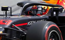 """November 10, 2018 - SãO Paulo, Brazil - SÃO PAULO, SP - 10.11.2018: GRANDE PRÊMIO DO BRASIL DE FÃ""""RMULA 1 2018 - Max VERSTAPPEN, NDL, RedBull Racing during the official qualifying training for the 2018 Formula 1 Brazilian Grand Prix, held at the Autodromo de Interlagos, in São Paulo, SP. (Credit Image: © Rodolfo Buhrer/Fotoarena via ZUMA Press)"""