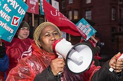 Walkout at Manchester Royal Infirmary, November 2014