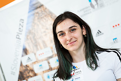 Mia Krampl of Slovenian National Climbing team before new season, on June 30, 2020 in Koper / Capodistria, Slovenia. Photo by Vid Ponikvar / Sportida