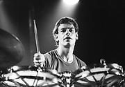 King Crimson drummer  Bill Bruford London 1979