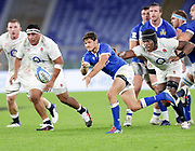 Marcello Violi (Italy) during the Guinness Six Nations 2020, rugby union match between Italy and England on October 31, 2020 at the Stadio Olimpico in Rome, Italy - Photo Luigi Mariani / LM / ProSportsImages / DPPI