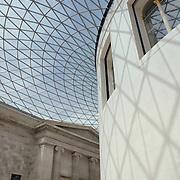 British Museum Rotunda Stairwell - London UK