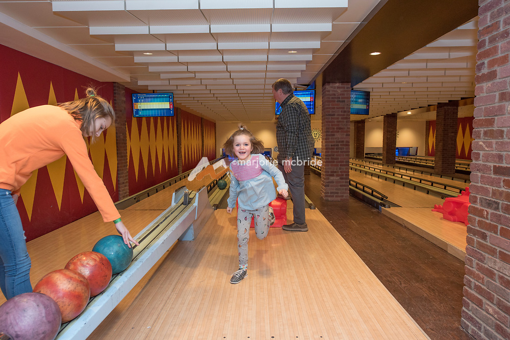 Bowling and arcade family fun in the Sun Valley Lodge, Idaho. MR