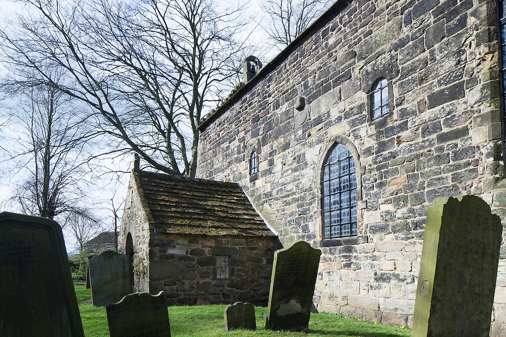The 7th century Anglo Saxon Church at Escomb, County Durham, UK