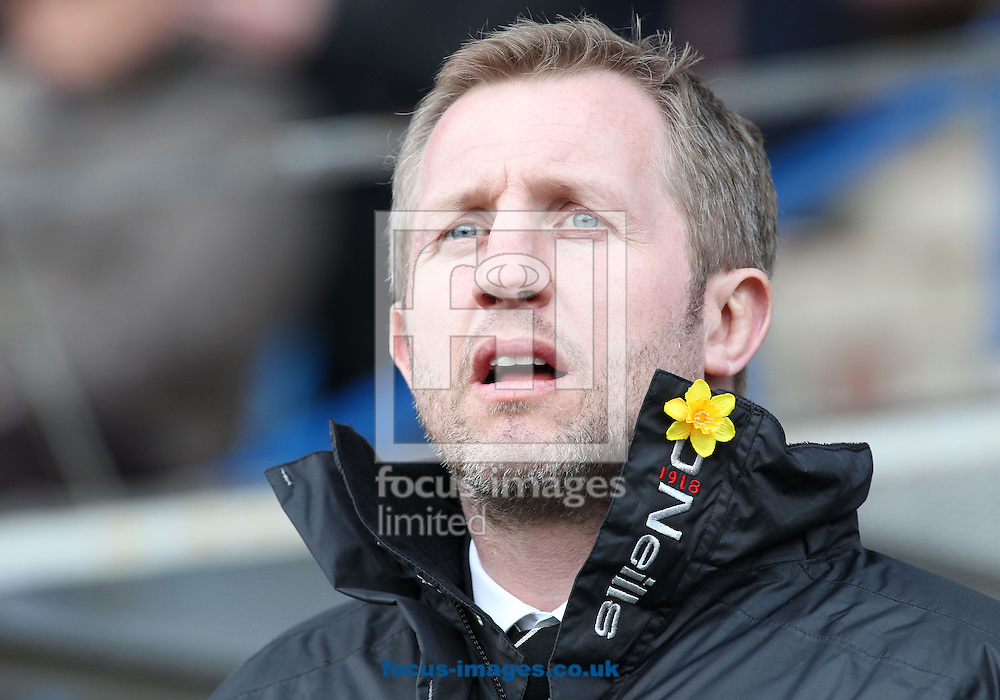 Picture by Michael Sedgwick/Focus Images Ltd +44 7900 363072.29/03/2013.Denis Betts, Widnes Vikings Head Coach prior to the Super League match against Warrington Wolves at the Stobart Stadium Halton, Widnes.