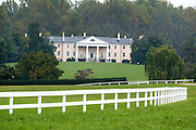 Montpelier, James Madison's ancestral home, is seen in this Oct. 14, 2003 photo in Montpelier Station, Va.   Photo/Andrew Shurtleff)