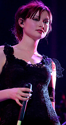 Sophie Ellis Bextor plays Live to a sell out  Sheffield City Hall 25th January 2003<br /> <br /> Images Editorial use only<br /> (no Merchandise agreement signed)<br /> Image Copyright Paul David Drabble