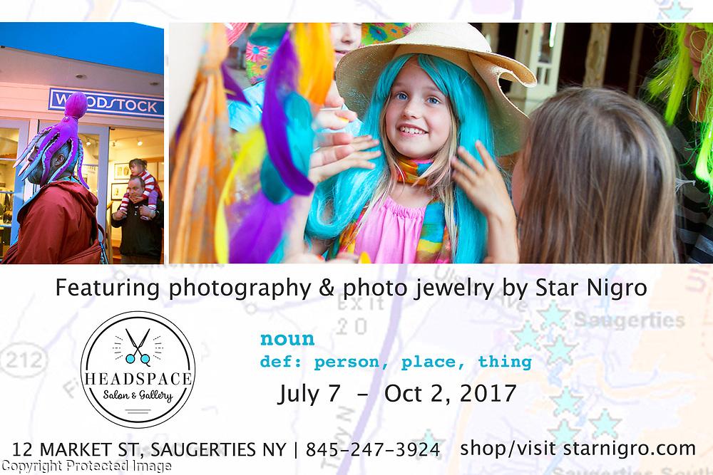 Star Nigro exhibit invite