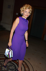 WENDY, COUNTESS OF CALEDON at a dinner hosted by Dom Perignon champagne to celebrate the launch of a new cook book held at the National Portrait Gallery, London on 15th September 2005.<br /><br />NON EXCLUSIVE - WORLD RIGHTS