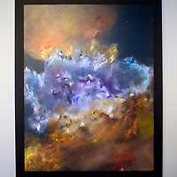 """Shannon Gurley O'Donnell's art show """"The Beauty and Grandeur of the Cosmos"""" opens at Art123 Gallery in Gallup Friday evening."""
