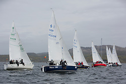 Day two of the Silvers Marine Scottish Series 2015, the largest sailing event in Scotland organised by the  Clyde Cruising Club<br /> Racing on Loch Fyne from 22rd-24th May 2015<br /> <br /> National Sonata Class<br /> <br /> <br /> Credit : Marc Turner / CCC<br /> For further information contact<br /> Iain Hurrel<br /> Mobile : 07766 116451<br /> Email : info@marine.blast.com<br /> <br /> For a full list of Silvers Marine Scottish Series sponsors visit http://www.clyde.org/scottish-series/sponsors/
