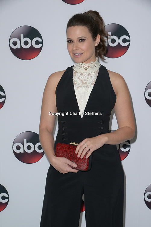 Katie Lowes attends the Disney/ABC  2016  Winter TCA Tour at Langham Hotel on January 9, 2016 in Pasadena, California. (Photo: Charlie Steffens/Gnarlyfotos)