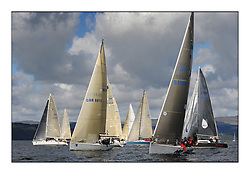 The Brewin Dolphin Scottish Series, Tarbert Loch Fyne...The Class two start on day one with Now or Never and No Sense.