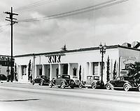 1938 KNX Radio on Sunset Blvd.