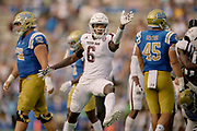 Sept 3, 2017; Texas A&M Aggies vs UCLA Bruins in Los Angeles at the Rose Bowl. Photos by Thomas Campbell/Texas A&M Athletics