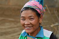 Lisu woman, Xiang Bai Lisu village, Tongbiguan nature reserve, Dehong prefecture, Yunnan province, China
