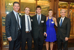 Yale Athletics Blue Leadership Ball & George H.W. Bush '48 Lifetime of Leadership Awards. 20 November 2015 at the William K. Lanman Center inside Payne Whitney Gym, Yale University.