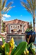 Custom Pool And Pool House